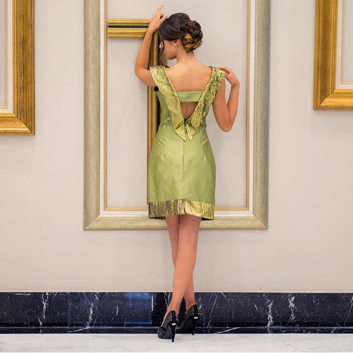 kleopatra dress back